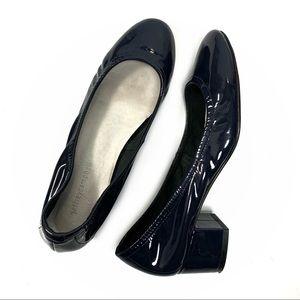 Jeffery Campbell Cyndi Block Heel Navy. Size 8.5